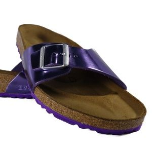 [1004046] Birkenstock Madrid BS (Metallic Viole)